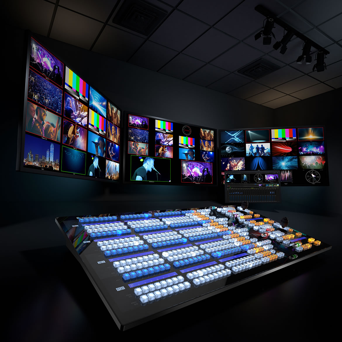 Newtek Video Mix Engine